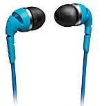 PHILIPS SHO2200BL Earphone For Mobile Phone Cellphone Computer In-Ear Wired Plastic 3.5mm Noise-Cancelling