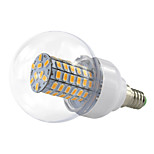 4.5W E14 LED Bubble Corn Style 69 SMD5730 420Lm Warm / Cool White Wide Voltage AC/DC10-60V 12V 24V 36V 48V (1 Piece)