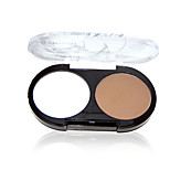 1Pcs Double Color  Powdery Cake Highlights The Shadow Powder Modified Nasal Shadow Outline Powder Makeup