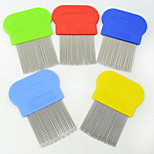 New Style Pet beauty Supplies dedicated Long needle flea comb Pet supplies dog combs Stainless steel long needle Pet Brush