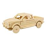 Jigsaw Puzzles 3D Puzzles Building Blocks DIY Toys Car Wood Model & Building Toy
