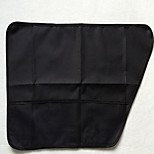 Cat Dog Car Seat Cover Pet Carrier Portable Low Noise Breathable Foldable Massage Soft Casual/Daily Solid Love Geometic Beige Black