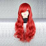 Cosplay Wigs Cosplay Cosplay Medium Curly Anime Cosplay Wigs 75 CM Heat Resistant Fiber