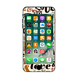 For iPhone 7 Plus Cartoon LOVE Color Before And After The Whole Stickers Light in The Dark for iPhone 6 6S Plus SE/5s/5/5 /4/4s