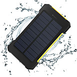 der neue 8000mAh ddual-usb Solar mobilen Strom angetrieben