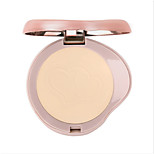 1Pcs Bob Heart Puzzle Clear Flawless Face Powder Moisturizing Oil-Control Concealer Finish Compact Powder Mineral Makeup
