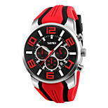 SKMEI 9128 Men's Woman Watch Waterproof Electronic Watch Fashion Multi - Functional Outdoor Sports Watch Sports Watch