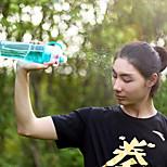 Botellas plásticas libres del bpa del uso dual de la botella de agua del aerosol de los deportes 1pcs para las tazas del espacio de la
