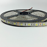 72W W Flexible LED Light Strips 1000 lm DC12 5 m 300 leds Warm White Red Yellow Blue Green