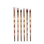 6pcs Eyeshadow Brush Brow Brush Synthetic Hair Full Coverage Plastic Eye Others