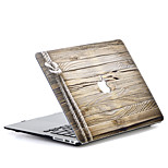For MacBook Air 11 13 Pro 13 15 Case Cover Polycarbonate Material Wood Grain