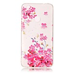 For Huawei P8 Lite (2017) P10 Lite Case Cover Plum Blossom Pattern HD Painted TPU Material IMD Process Phone Case P8 P9 Lite P10