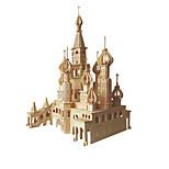 Jigsaw Puzzles 3D Puzzles Building Blocks DIY Toys Famous buildings Wood Model & Building Toy
