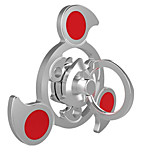 Fidget Spinner Hand Spinner Toys Tri-Spinner Ring Spinner Gear Spinner Toys Metal Aluminium EDCStress and Anxiety Relief Office Desk Toys