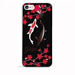 Luxury Koi Fish Pattern Case Cover Beautiful Flowers Soft TPU for Apple iPhone 7 Plus/iPhone 7/iPhone 6s Plus/iPhone 6s