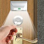 Ywxlight 3w 4-ledig sleutelgatlichtlamp pir infrarood ir draadloze auto sensor bewegingsdetector (dc 12v)