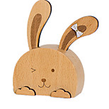 Music Box Rabbit Novelty & Gag Toys Wood Unisex