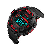 SKMEI® 1243 Men's Woman Watch Double Significant Outdoor Sports Watch Mountain Climbing Waterproof Electronic Watch Male LCD Students Multi-Function