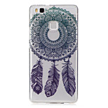 For Huawei P9 Lite P8 Lite Case Cover Wind Chimes Pattern Painted High Penetration TPU Material IMD Process Soft Case Phone Case Y5 II Y6 II