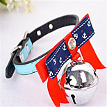 Dog Necklace Dog Clothes Summer Solid Casual/Daily Light Blue Blushing Pink Blue Yellow