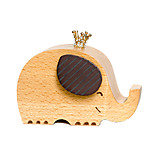 Music Box Elephant Novelty & Gag Toys Wood Unisex