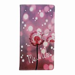 For Apple iPhone 7 Plus 7 6s plus 6plus 5 5s se Case Cover Card Holder Wallet with Stand Flip Pattern Full Body Case Dandelion Hard PU Leather