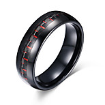Men's Ring Basic Euramerican Fashion Personalized Tungsten Carbide Steel Luxury Casual Cool Unique Jewelry For Simple Party Finger Rings