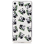 For Sony Xperia XA M2 Case Cover Panda Pattern Painted High Penetration TPU Material IMD Process Soft Case Phone Case