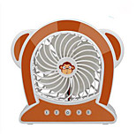 YY WG16-M10 USB Mini Fan Meng Monkey Mini Fan Rechargeable Small Fan Rechargeable Mini Fan Usb Cartoon Desktop