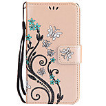 For Sony Xperia Z5 Z3  Card Holder Wallet Case Full Body Case Flower Hard PU Leather