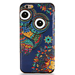 For Apple iPhone 7 7Plus Case Cover Pattern Back Cover Case Owl Soft TPU 6s Plus 6 Plus 6s 6