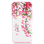 For Apple iPhone 7 7Plus Case Cover Pattern Back Cover Case Word / Phrase Flower Soft TPU 6s Plus 6 Plus 6s 6