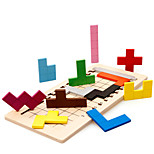 Building Blocks Wooden Puzzles For Gift  Building Blocks Games & Puzzles Square 2 to 4 Years 5 to 7 Years 8 to 13 Years Toys