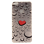 For Huawei P8 Lite (2017) P10 Case Cover Love Water Drops Pattern HD Painted TPU Material IMD Process Phone Case P10 Lite Honor 6X Y5 II Y6 II
