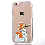 For iPhone 7 Cartoon TPU Soft Ultra-thin Back Cover Case Cover For Apple iPhone 7 PLUS 6s 6 Plus SE 5s 5 5C 4S 4