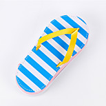 Slippers Stripe Design PU Leather Stationery Bags