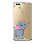 For Ultra-thin Pattern Case Back Cover Case Elephant Soft TPU for HuaweiHuawei P10 Plus Huawei P10 Huawei P9 Huawei P9 Lite Huawei P9