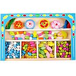 DIY KIT Building Blocks Educational Toy For Gift  Building Blocks Wood 2 to 4 Years 5 to 7 Years Toys