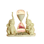 Creative One Of The Three Elephant Ornaments Wedding Gift TV Cabinet Mysterious Hourglass Living Room Home Decoration Wine Cabinet