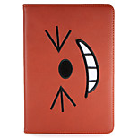Per iPad ipad (2017) pro 9.7 '' copertina con stelo flip modello pieno corpo cartoon hard pu aria in pelle air2