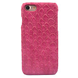 For Apple iPhone 7 7 Plus 6S 6 Plus Case Cover Fish Scale Pattern Paste Skin PC Material Phone Case