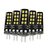 3W G4 LED à Double Broches 16 SMD 2835 200-300 lm Blanc Chaud Blanc Naturel Blanc Décorative V 5 pièces