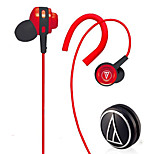 Audio-technica ATH-CLR100is BK Mobile Earphone for Computer Sports Fitness Ear Hook Wired Plastic 3.5mm Noise-Cancelling