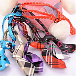 Dog Tie/Bow Tie Dog Clothes Summer Flower Casual/Daily Rainbow