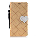 For Huawei P8 Lite (2017) P10 Diamond Pattern Heart Magnetic Buckle PU Leather Material Wallet Function Phone Case For P10 Lite Y5 II Y6 II Mate 9