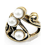 Han Edition Retro Contracted Pearl Ring