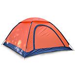 2 человека Световой тент Один экземляр Складной тент Однокомнатная Палатка 1000-1500 мм Стекловолокно Оксфорд Водонепроницаемый Переносной