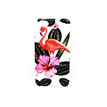Pour Etuis coque Dépoli Relief Motif Coque Arrière Coque Flamant Dur Polycarbonate pour AppleiPhone 7 Plus iPhone 7 iPhone 6s Plus iPhone