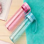 500ml Plastic Portable Motion Kettle Water Bottle
