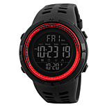 SKMEI 1251 Men's Woman Watch Double Significant Outdoor Sports Watch Mountain Climbing Waterproof Electronic Watch Male LCD Students Multi - Function